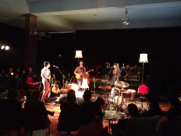 Winter Music in The Round @ Velvet Room (Thornbury Theatre June 1, 2012)